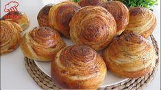 Bread Recipes, Real Food Recipes, Cooking Recipes, Bread Bun, Bread Rolls, Tea Loaf, Arabic Food, Dinner Rolls, How To Make Bread