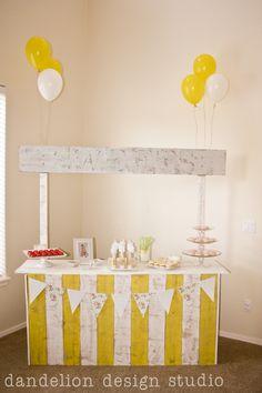 shabby chic party dessert bar - Dandelion Design Studio