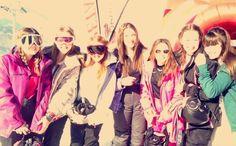 ski trip fun
