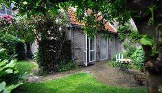 Den Bosch bed & breakfast achter de sterren, eigen huisje met tuin