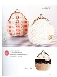 sewing for women: handbags and purses, japanese magazine. - crafts ideas - crafts for kids