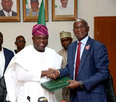 20 Years After, FG Finally Hands Over Presidential Lodge To Ambode