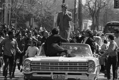 Robert F. Kennedy Waving From Motorcade - 42-29117017 - Rights Managed - Stock Photo - Corbis