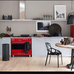 Smeg's New Portofino Makes Kitchens Alive with Colour - Western Living Magazine Smeg Kitchen, Kitchen Decor, Kitchen Design, Elegant Home Decor, Elegant Homes, My Kitchen Rules, Range Cooker, 50 Style, Living Magazine