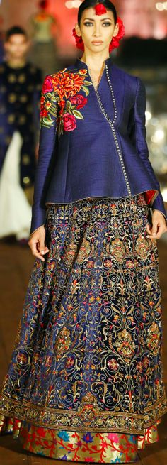 Wow! This is so nice.   Rohit Bal Spring/Summer 2015❋Laya❋