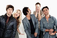 The Big Bang Theory. Cada vez que veo esta serie termino sin poder parar de reír ;)
