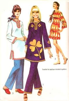 70s Simplicity 9156 Vintage Sewing Pattern by WEAREVINTAGESEWING, $8.00