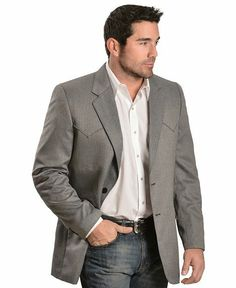 Jason's jacket - sheplers circle s sports coat item #072A81 http://www.sheplers.com/Circle-S-Kerrville-Herringbone-Sport-Coat/27078.pro