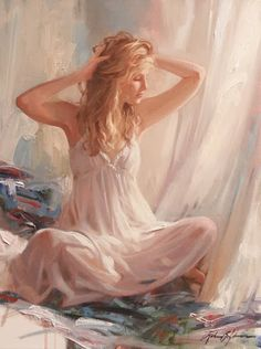 SWAN LAKE: RICHARD S. JOHNSON - American Contemporary Painter