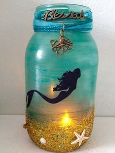 I have a friend who loves mermaids....thought she might like this.