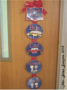 Ms. Jones' Junction: Western Theme Classroom - How Do We Get Home Display