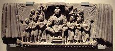 The future Buddha Maitreya, Gandhara, 3rd century CE.