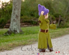 Dopey costume! Extremely cute for a little boy! Made by Cadoozled. www.cadoozled.com