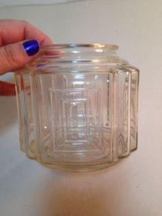 Antique-Glass-Light-Fixture-Globe-Shade-Art-Deco-Lighting-Parts-Vintage-Decor