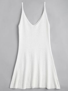 SHARE & Get it FREE | Mini Cami A Line Dress - WhiteFor Fashion Lovers only:80,000+ Items • New Arrivals Daily Join Zaful: Get YOUR $50 NOW!