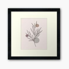 Abstract Posters, Abstract Canvas, Framed Art Prints, Poster Prints, Poster Design Inspiration, Centerpiece Decorations, Abstract Shapes, Plant Leaves, Minimal