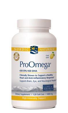 Nordic Naturals ProOmega 120 soft gels 1000 mg each