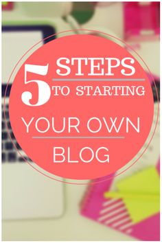 This is a page about How To Start Your Own Blog.