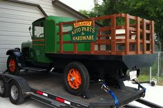 1928 REO Speed Wagon Tonner Flatbed Truck for Sale in KINGSLAND, TX | Collector Car Nation Classifieds