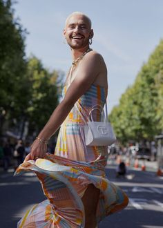 The Boys in Their Summer Dresses - The New York Times Quilted Skirt, New York Times Magazine, Costume Institute, Children Images, Jeans And Sneakers, Saturday Night Live, Fashion Stylist, Dress Codes, Suits For Women