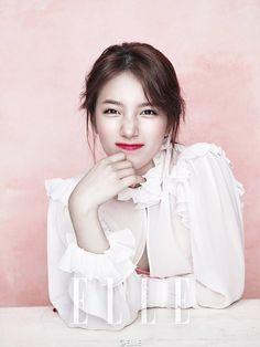 Suzy shows elegant side for Elle magazine 2ne1, Korean Beauty, Asian Beauty, Asian Celebrities, Celebs, Btob, Miss A Suzy, Culture Pop, Big Bang