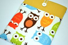 Owl 17 inch Laptop Bag17 inch Laptop Sleeve17 inch by RCRAFTSS