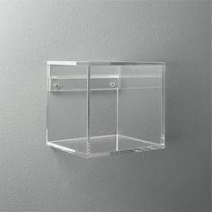 Or model car, picture frame. Perfectly see-through, clear acrylic disappears on the wall to float objects and collectibles. Easy access design makes it a snap to switch out the show. acrylic storage shelf is a exclusive. Displays, Display Boxes, Display Shelves, Shelving, Acrylic Display Box, Acrylic Box, Clear Acrylic, Cube Shelves, Glass Shelves