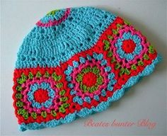 This should be easy using the center part of a crocheted hat pattern.