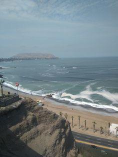 Pacific Ocean, Lima, Peru