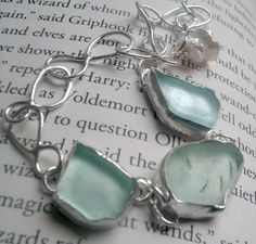 Oh, sea glass...:-)  $60.00