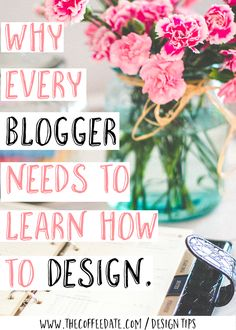 Learning Design is one of the most important things a blogger can learn because you can seriously become a better blogger (by creating amazing graphics) and create a part time income!