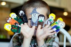 Lord of the Rings Finger Puppets Patterns. $4.00, via Etsy.