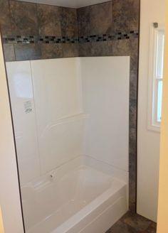 fibreglass shower surround 5 bathroom update ideas fiberglass shower tub surround and white subway tiles