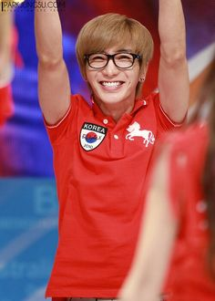 Leeteuk. god his smile.
