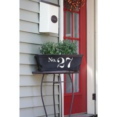 House Number DIY Project 4