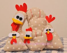 #tutorial #galline in #stoffa #cucito #pasqua