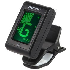 SWIFF Mini Clip-On Guitar Tuner Automatic Digital Tone Tuner for Acoustic Electric Guitar Bass Chromatic Violin Ukulele Bass Guitars For Sale, Cheap Guitars, Learn Acoustic Guitar, Learn To Play Guitar, Fender Acoustic, Ukulele Tuning, Guitar Chords, Bass Guitar Lessons, Guitar Tuners