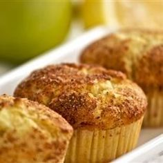 Apple Lemon with Cinnamon Muffins - Allrecipes.com