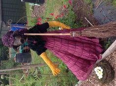 Scarecrow by Organic Lady Gardener