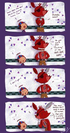 Five Nights at Freddy's 2 Foxy's Joke