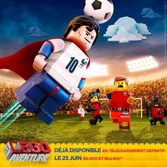 world cup lego La Grande Aventure Lego, Film D'animation, Lego Group, Blu Ray, Lego Movie, One Team, First Nations, Legos, Fifa