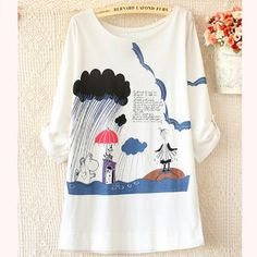 Buy 'Ringnor – Tab-Sleeve Printed Top' at YesStyle.com plus more China items and get Free International Shipping on qualifying orders.