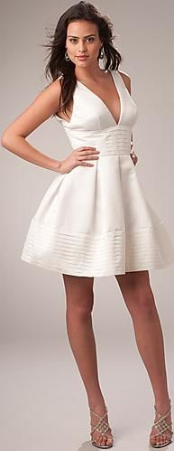 Carrie Underwood Inspired White Party Dress PL-1068