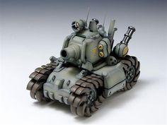 SV-001 Metal Slug Model Kit - Metal Slug Vehicle