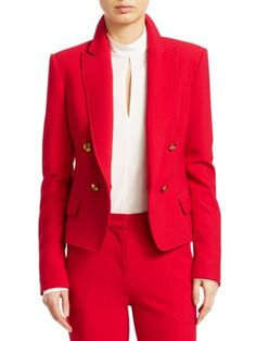 Double Breasted Blazer, Saks Fifth Avenue, Blazers, Shop Now, Friday, Closure, Buttons, Clothes For Women, Fall