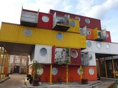 Container House - The coolest homes and offices made out of shipping containers! - Who Else Wants Simple Step-By-Step Plans To Design And Build A Container Home From Scratch? Cheap Shipping Containers, Shipping Container Buildings, Shipping Container Home Designs, Container Shop, Cargo Container, Container House Design, Container Office, Science Park, Architect Drawing