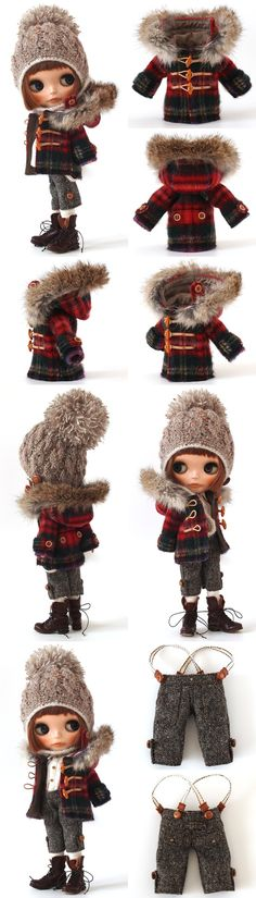 mahounote.の画像|エキサイトブログ (blog) New Dolls, Ooak Dolls, Blythe Dolls, Girl Doll Clothes, Barbie Clothes, Diy Clothes, Doll Costume, Fashion Project, Cute Dolls