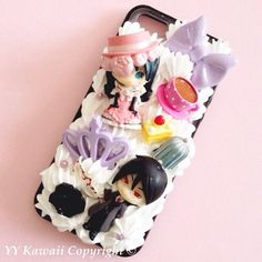 Custom kawaii anime manga Black Butler including Sebastian Decoden Phonecase for Iphone 4/4s 5, Samsung Galaxy S2 S3 S4 Note, HTC on Etsy, $25.00