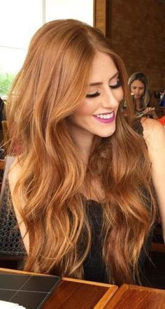 Need to dye my hair this color one day. Are you looking for auburn hair color hairstyles? See our collection full of auburn hair color hairstyles and get inspired!