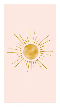 Cute Wallpapers, Wallpaper Backgrounds, Art Minimaliste, Freundin Tattoos, Sun Art, Art Graphique, Aesthetic Iphone Wallpaper, Art Inspo, Art Drawings